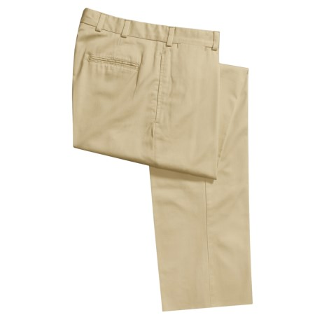 Bills Khakis M1 Cotton Twill Pants - Flat Front (For Men)