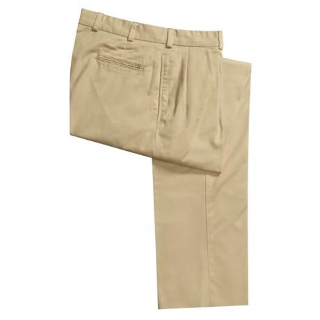 Bills Khakis M1P Cotton Twill Pants - Front Pleats (For Men)