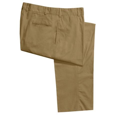 Bills Khakis M1 Cotton Poplin Pants - Flat Front (For Men)