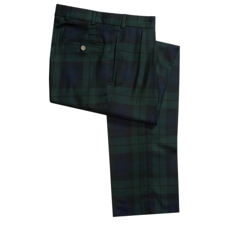 Bills Khakis M2P Tartan Pants - Pleated (For Men)