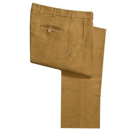 Bills Khakis M2P Moleskin Pants - Pleated (For Men)
