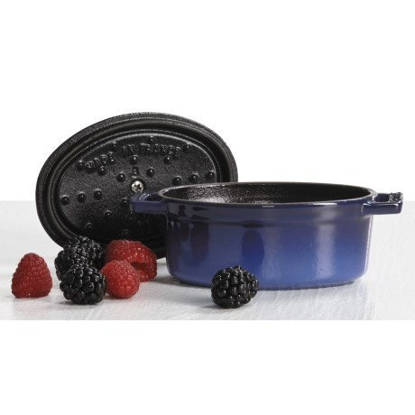 Staub Mini Oval Cocotte Pot - Cast Iron, 0.25 qt.