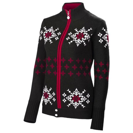 Neve Lisa Nordic Jacket - Merino Wool, Full Zip (For Women)