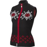 Neve Nina Nordic Vest - Merino Wool, Full Zip (For Women)