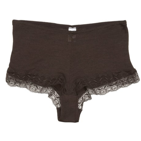 Calida Embrace Rib Panties - Boy-Cut Briefs, Wool-Silk (For Women)