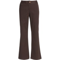Stretch Cotton Chino Pants - Modern Fit (For Women)