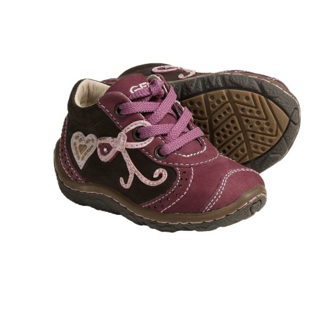 Geox Lolly Shoes - Nubuck (For Infant and Toddler Girls)