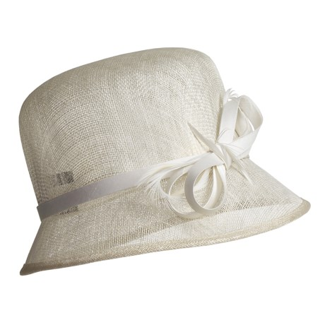 Betmar Adele Straw Cloche Hat (For Women)