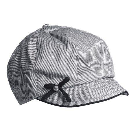 Betmar Button-and-Bow Cap (For Women)