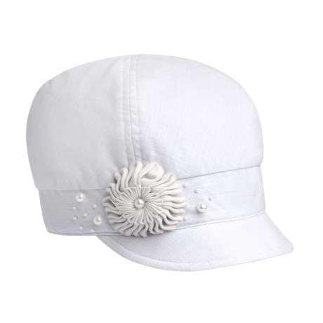 Betmar Pearl Pinwheel Cap (For Women)