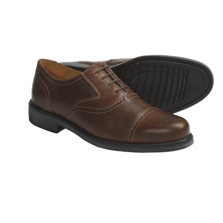 Martin Dingman Morgan Shoes - Brogued Leather (For Men)