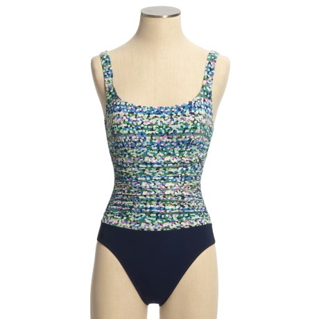 Profile by Gottex Square Neck Swimsuit- 1-Piece (For Women)