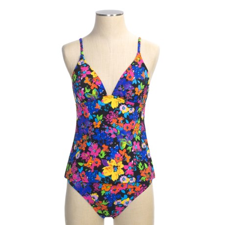 Abs Allen Schwartz Garden Party Tankini Swimsuit - 2-Piece (For Women)