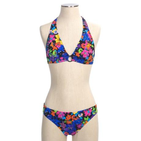 ABS Allen Schwartz Abs Allen Schwartz Garden Party Bikini Swimsuit - 2-Piece, Halter, Hipster (For Women)