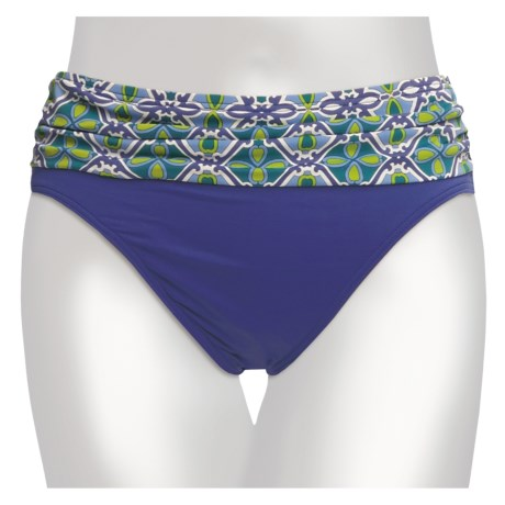 Tommy Bahama Medallion Treasure Bikini Bottoms - High Waist (For Women)