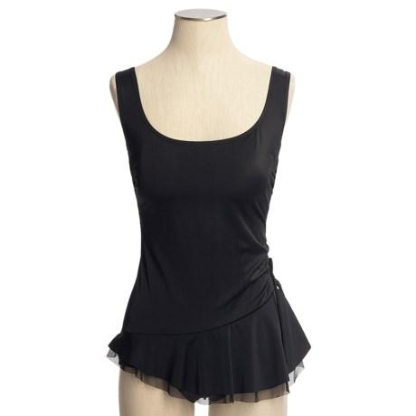 Longitude Skirted Swimsuit - 1-Piece (For Women)