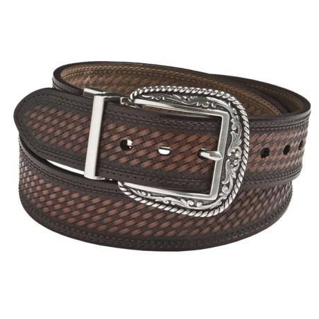 Ariat Western Reversible Belt - Leather (For Men)