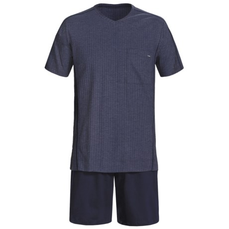 Calida Refresh Shorty Pajamas - Short Sleeve (For Men)