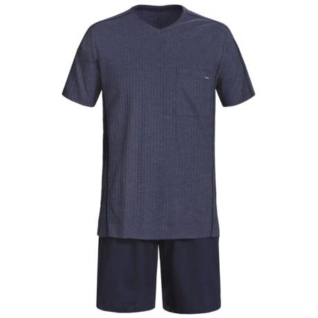 Calida Refresh Shorty Pajamas - Short Sleeve (For Men)