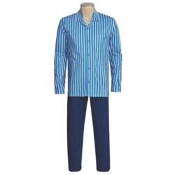 Calida Off Shore Pajamas - Button Front, Long Sleeve (For Men)
