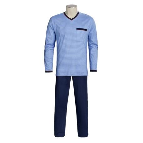 Calida Ocean View Pajamas - V-Neck, Long Sleeve (For Men)