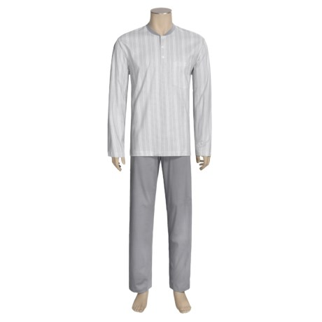 Calida Atlantic Pajamas - Long Sleeve (For Men)