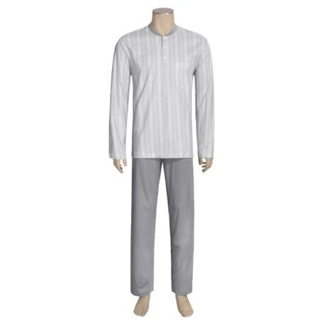 Calida Atlantic Pajamas - Long Sleeve (For Men)
