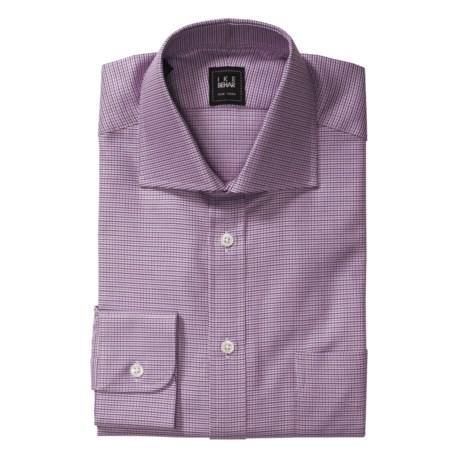 Ike Behar Fancy Spread Collar Dress Shirt - Barrel Cuffs, Long Sleeve (For Men)