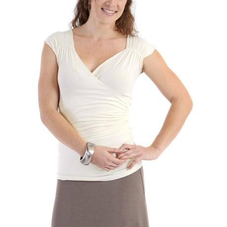 DreamSacks® by Yala Zoe Crossover Shirt - Sleeveless (For Women