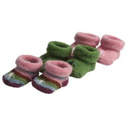 SmartWool Baby Booties - Merino Wool, 3-Pack (For Infants)