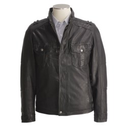 Cole Haan Military-Inspired Jacket - Leather (For Men)