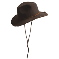 Bailey Renegade Cowboy Hat - Wool, Pinch-Front Crown, Leather Accents (For Men and Women)