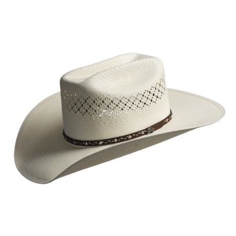 Bailey Jolson 7x Shantung Straw Cowboy Hat - Mustang Crown (For Men)