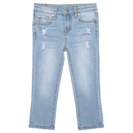 7 for All Mankind Ankle Skinny Jeans (For Little Girls)