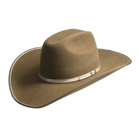 Bailey Kearney Cowboy Hat - Cheyenne Crown, 6x Beaver Felt (For Men and Women)