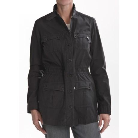 Thyme (x) 2 Garment-Dyed Cotton Anorak Jacket (For Women)