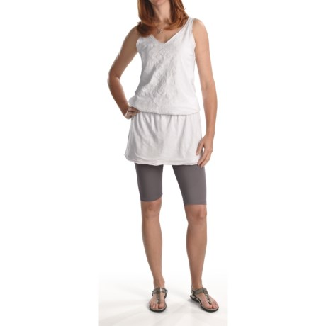 Falke Knicker Leggings - Stretch Cotton (For Women)