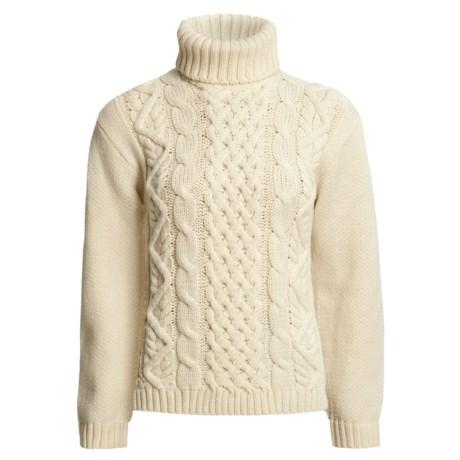 J.G. Glover & CO. Peregrine by J.G. Glover Turtleneck Sweater - Peruvian Merino Wool (For Women)