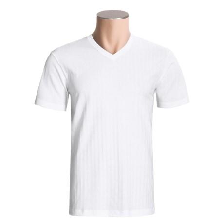 Calida Dynamic T-Shirt - V-Neck, Short Sleeve (For Men)