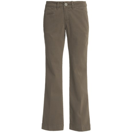 Christopher Blue Luca Trouser Pants - Stretch Herringbone Slub (For Women)