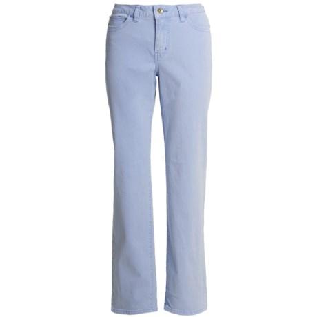 Christopher Blue Julianna Straight Pants - Gabardine Twill (For Women)