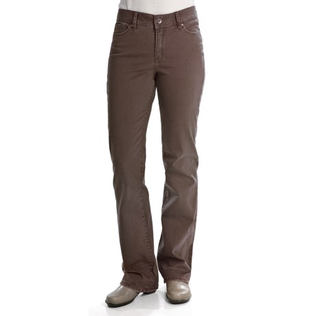 Christopher Blue Lance Pants - Gabardine Twill, Bootcut (For Women)