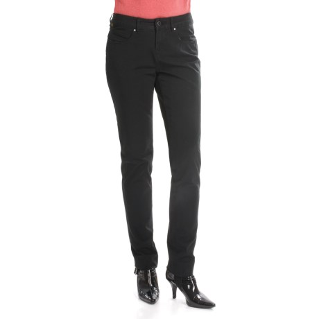 Christopher Blue Benji Cigarette Slim Pants - Stretch Twill (For Women)