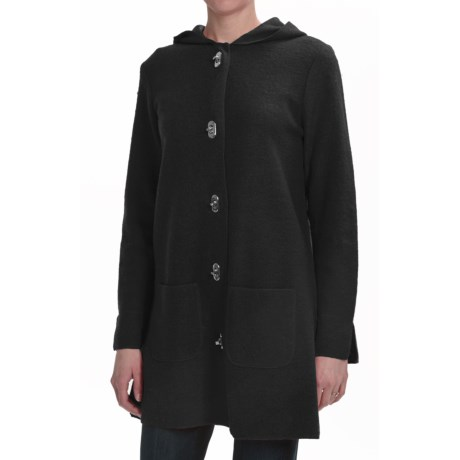 Lauren Hansen Boiled Wool Hooded Coat (For Women)