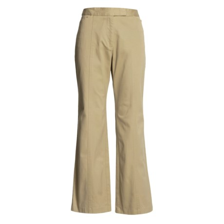Stretch Cotton Pants (For Women)