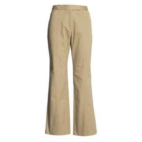 Stretch Cotton Pants (For Women)