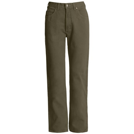 5-Pocket Cotton Twill Jeans (For Women)