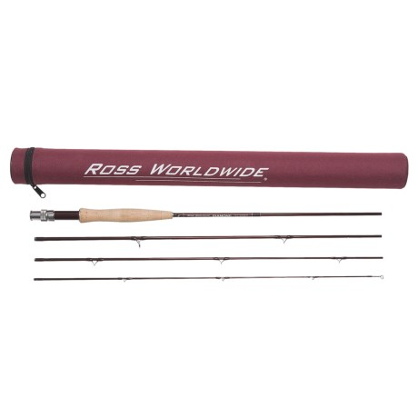 Ross Worldwide Diamond Series Fly Rod - 4-Piece (For Women and Youth)