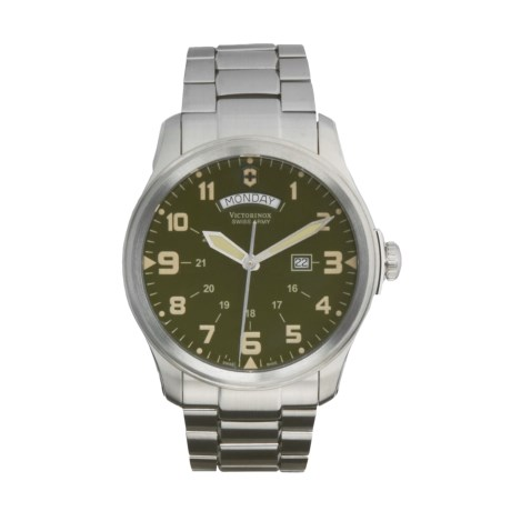 Victorinox Swiss Army Infantry Vintage Watch - Stainless Steel, Day/Date