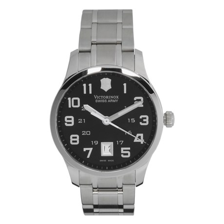 Victorinox Swiss Army Alliance Watch - Stainless Steel, Large Face